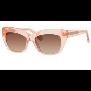 KATE SPADE CRIMSON CAT EYE SUNGLASSES